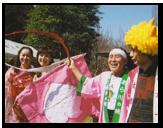 桃 祭り 桃太郎 横浜