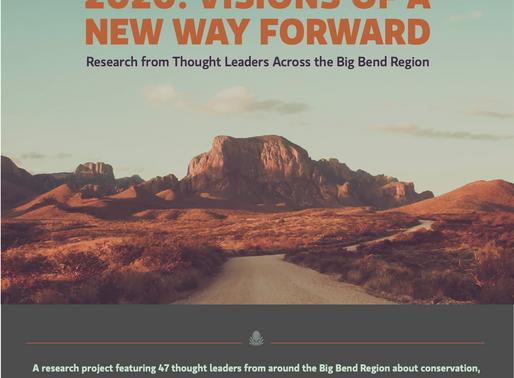 2020: Visions of a New Way Forward