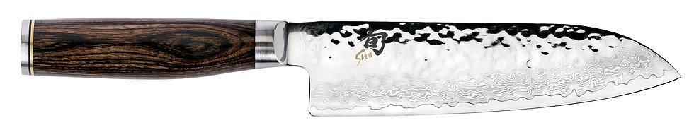 "Shun Premier - Tsuchime Santoku Knife 7"""