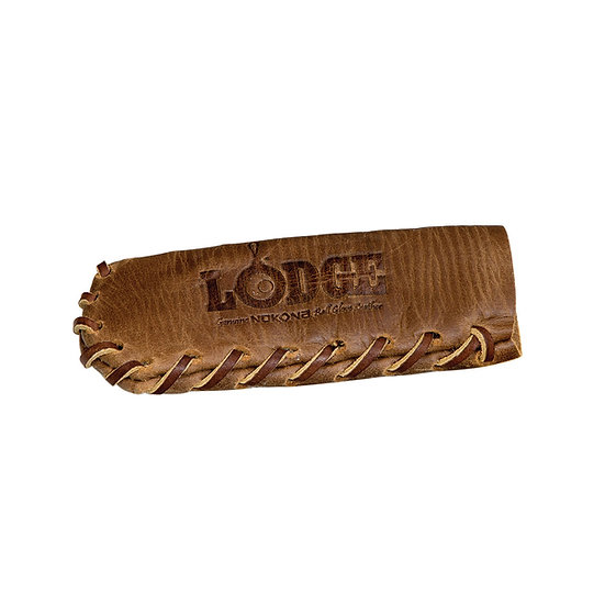 Lodge Nakona Leather Hot Handle Holder, Spiral Stitched/ปลอกหนังสวมด้ามกระทะ