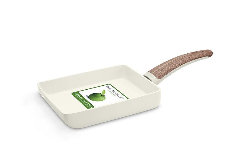 GreenPan Wood-Be 14x18 cm Rectangular Egg Pan/กระทะไข่เหลี่ยม 14x18 cm