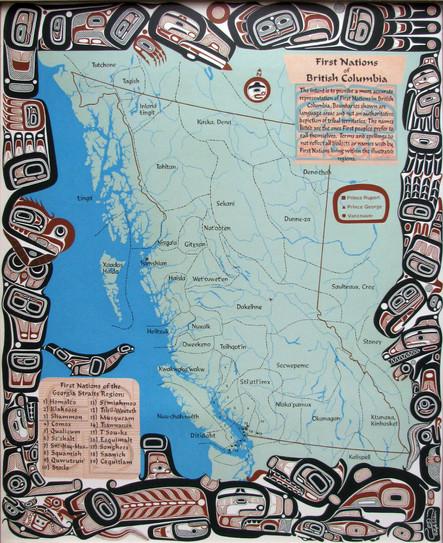 tribal territories map