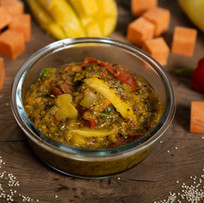 Mango, Coconut and Lentil curry