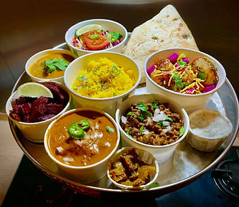 Our Thaali Feasting Experience