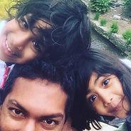 Mr Arjuna Imbuldeniya family