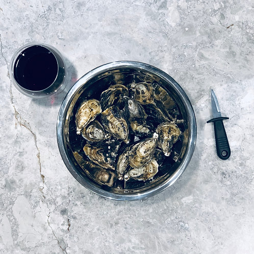 Un-Shucked Oysters