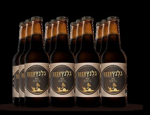 מארז 12 בירה כהה
