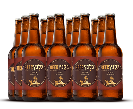 מארז 12 בירה אדמונית