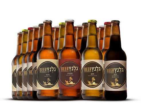 גלֶנץ על בטוח ארגז 24 בקבוקים