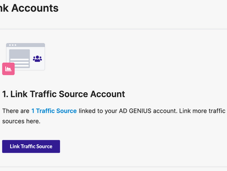 Link Native Traffic Sources & Tracker