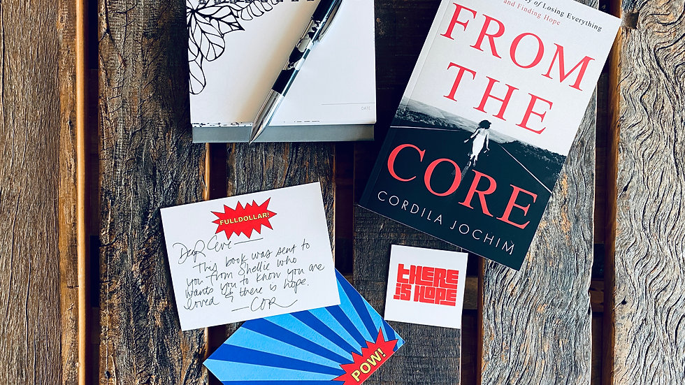 Personalized From the Core Kit: Affirmations Calendar