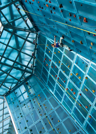 High Point Climbing Gym, Chattanooga