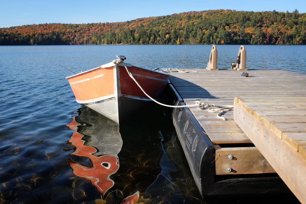 Clear Lake, Haliburton Forest, Ontario, Canada, October, 2016