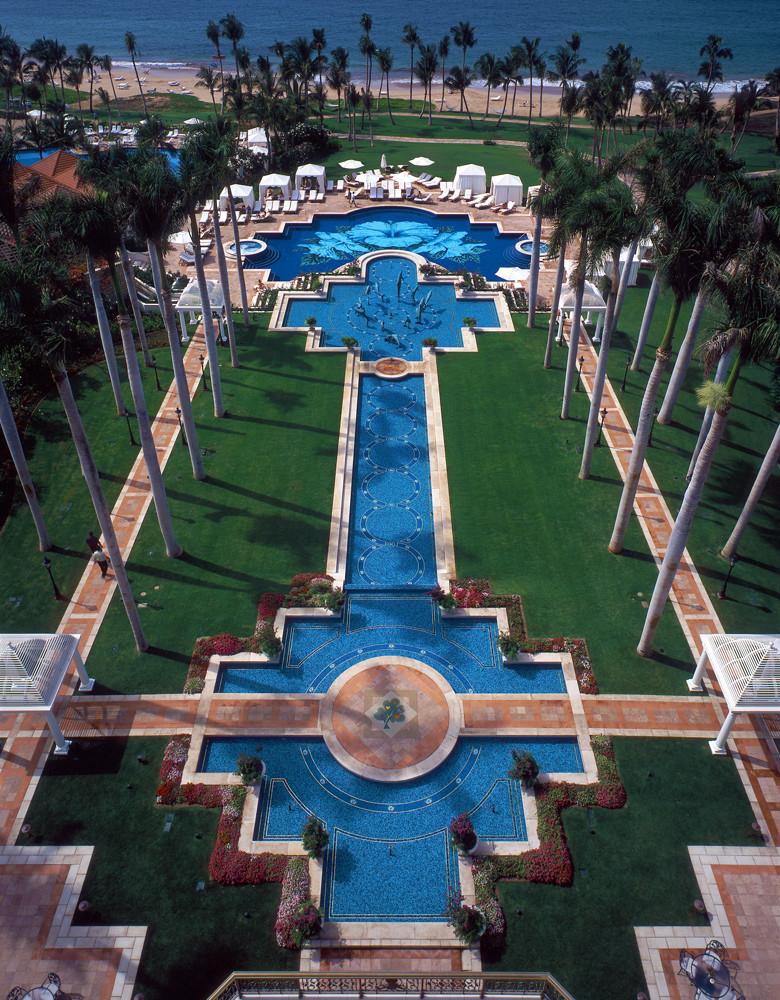 Grand Wailea Hibiscus Pool and Fountains, Maui, Hawaii