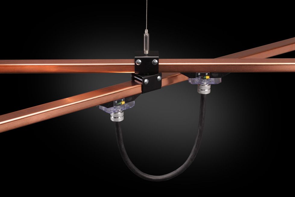 Architectural BusStrut, Variable Jumper Cord on Copper