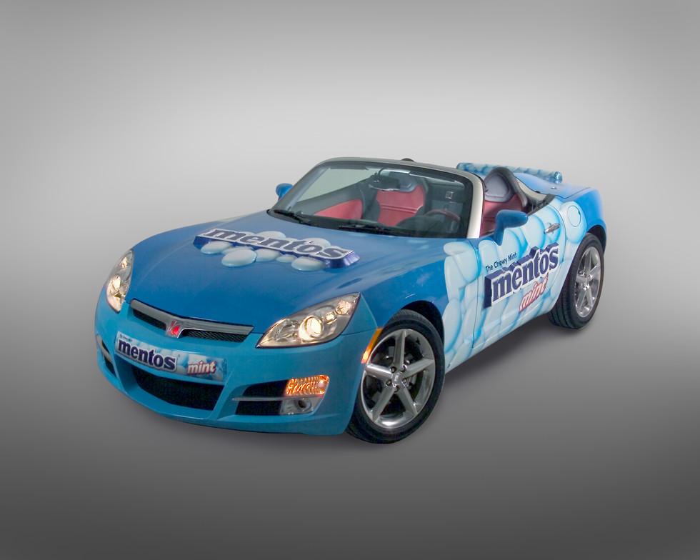 3-D Vehicle Wrap, Creative 3D, Cincinnati, Ohio