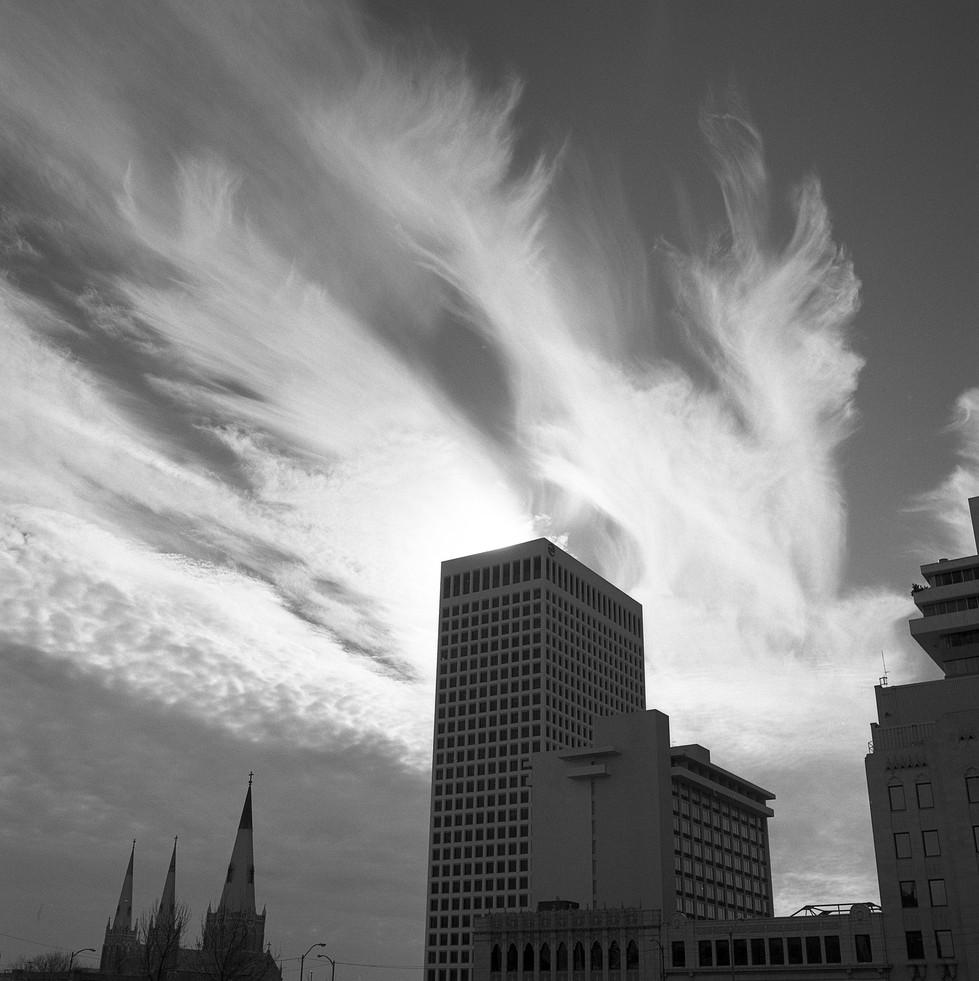 Clouds, Tulsa, OK, Dec 29th, 1988