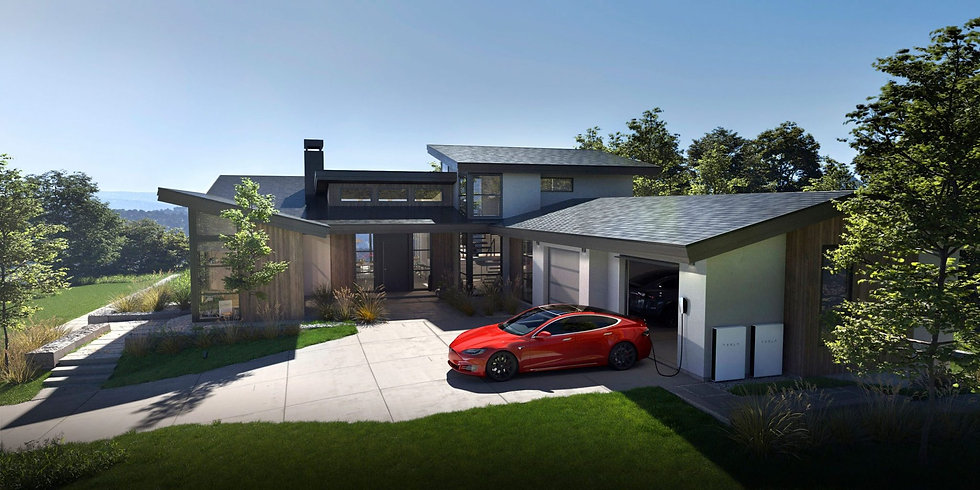 Tesla-house-model-s-powerwall-solar-roof