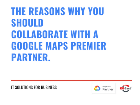 Why use a Google Maps Premier Partner?