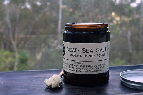 Dead Sea Salt Manuka Honey Scrub 200gms