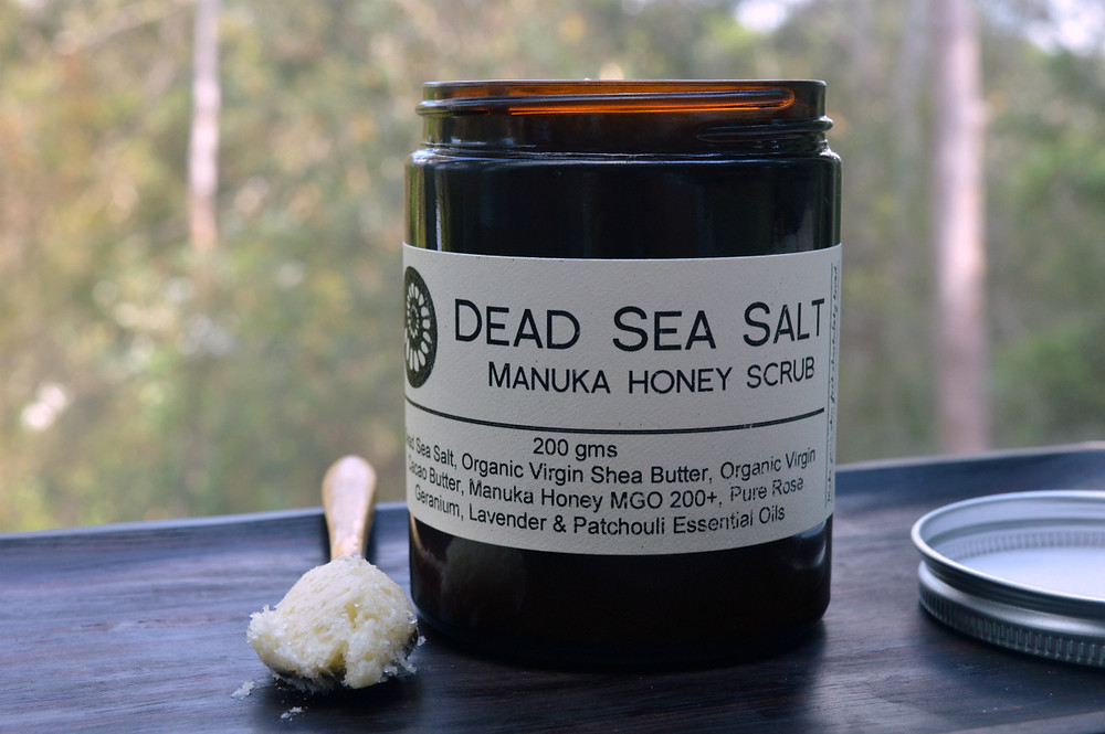Dead Sea Salt Body Scrub