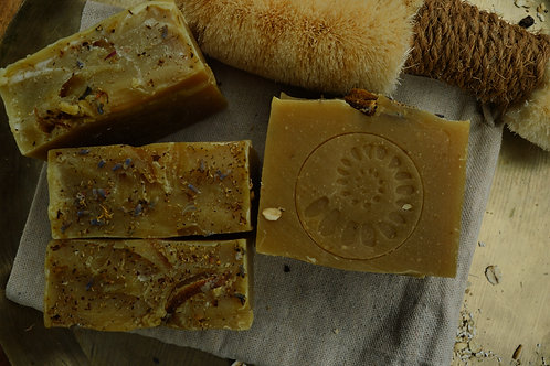 Mandarin Peel Goat Milk Soap
