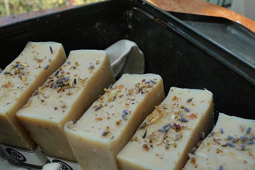 Lavender Patchouli Goat Milk Soap