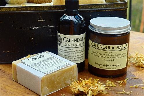 Calendula Skin Care Pack