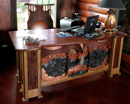 EXECUTIVE RUSTIC DESK