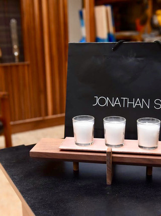 The Bergman Candle Tray