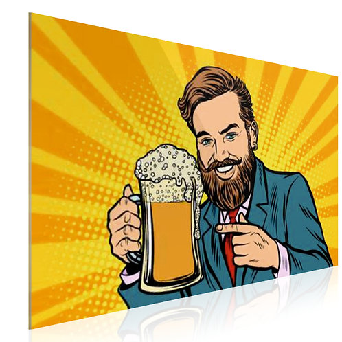 Tableau Hipster bière