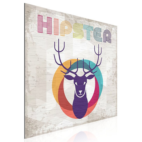 Tableau Hipster Colors Deer