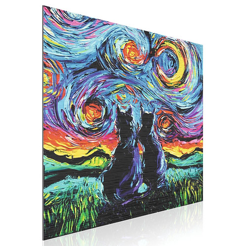 Tableau Cats Gogh