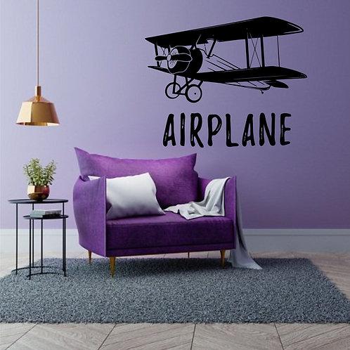 Vinyle Avion léger Vintage 2