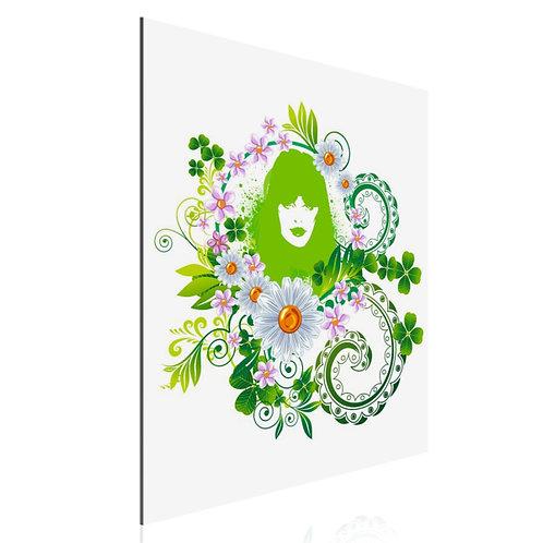Tableau Green girl