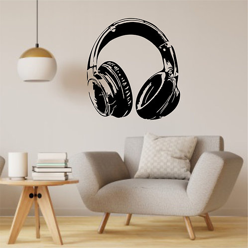 "Vinyle Music ""Casque audio"""