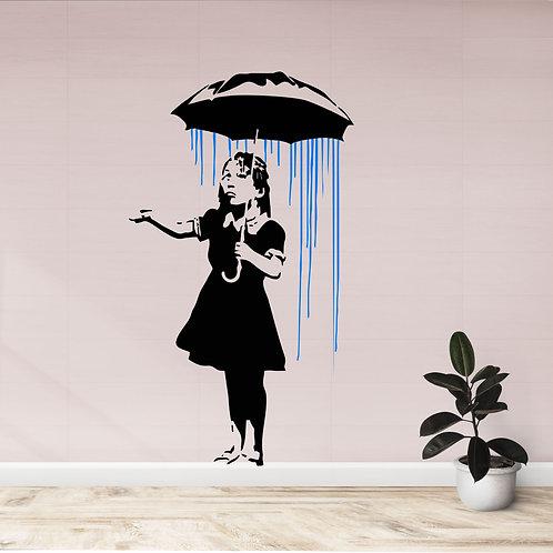 Vinyle Banksy Umbrella