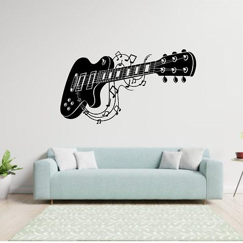 """Vinyle Music """"guitare électrique"""""""
