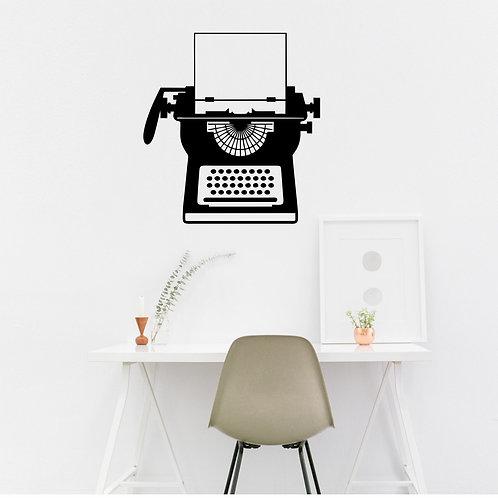 Vinyle Machine à écrire