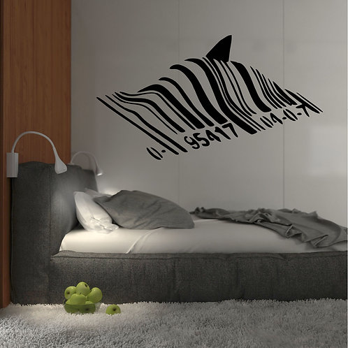 Vinyle Banksy code shark