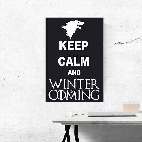 "Tableaux PVC ""KEEP CALM..."""