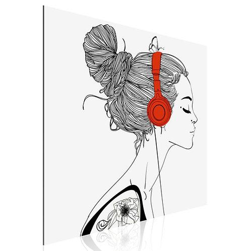 Tableau Girl headphones