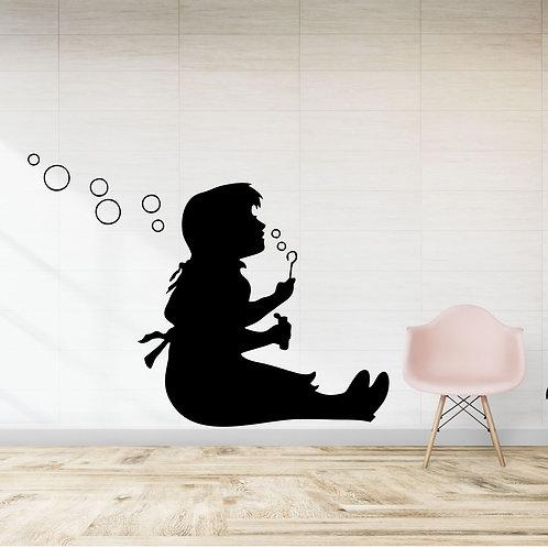 Vinyle Banksy bulles