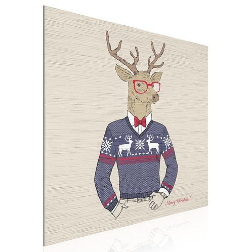 Tableau Hipster Deer Christmas