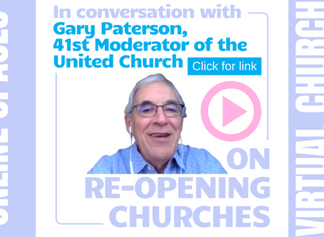 WATCH NOW: 41st Moderator of the United Church on Reopening Churches Post Pandemic