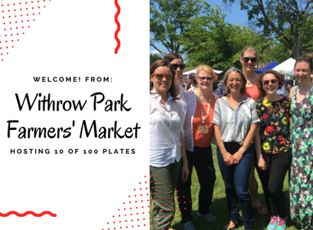Partnership between East End United Regional Ministry and the Withrow Park Farmers' Market
