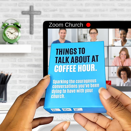 52 Questions To Help Your Church: Things To Talk About At Coffee Hour
