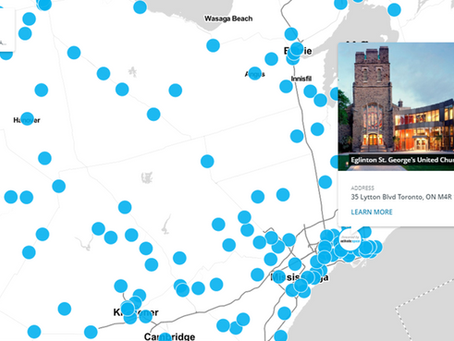United Church of Canada Interactive Asset Map