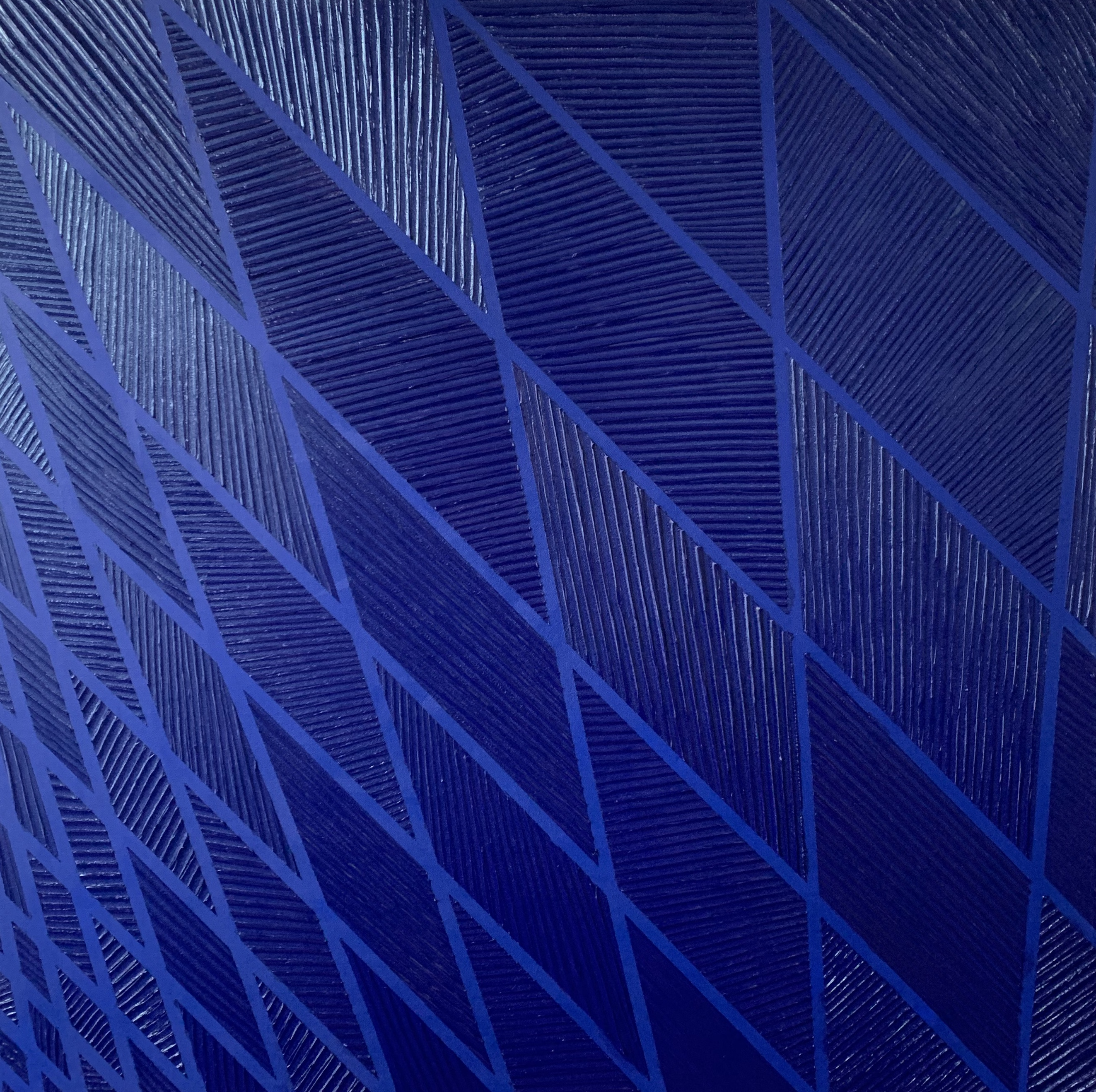 Tower - Monochrome Blue