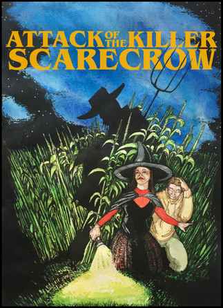 On Halloween night, two teenagers accidentally unleash a killer scarecrow when they trespass on its farm.